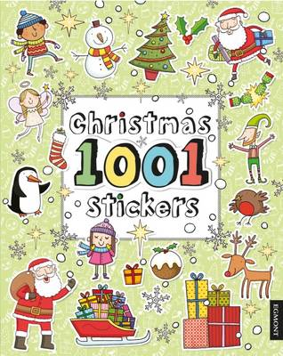 Christmas 1001 Stickers - 1001 Stickers Fun Books (Paperback)