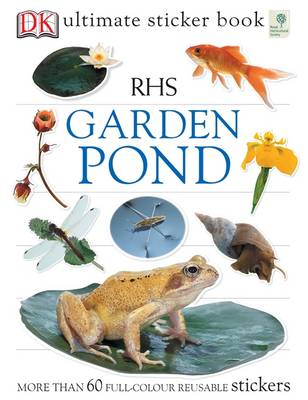 RHS Garden Pond Ultimate Sticker Book - Ultimate Stickers (Paperback)
