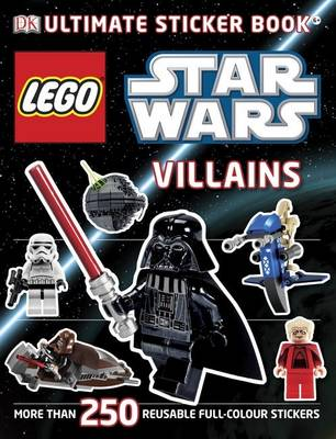 LEGO Star Wars Villains Ultimate Sticker Book - Ultimate Stickers (Paperback)