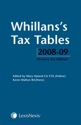 Whillans's Tax Tables 2008-09 (Paperback)