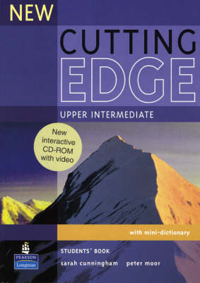 New Cutting Edge Upper Intermediate Students Book and CD-ROM Pack - Cutting Edge (Mixed media product)