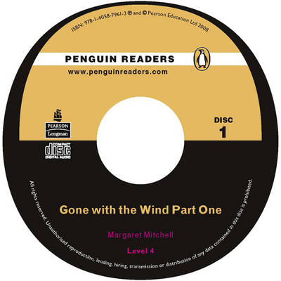 """Gone with the Wind"" CD for Pack: Pt. 1, Level 4 - Penguin Readers (Graded Readers) (CD-Audio)"