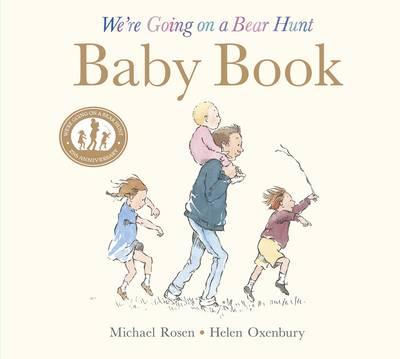 We're Going on a Bear Hunt: Baby Book: My First Year (Hardback)