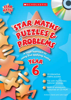 Star Maths Puzzles and Problems Year 6: A Fresh Approach to Using and Applying Maths - Star Maths Puzzles and Problems (Mixed media product)