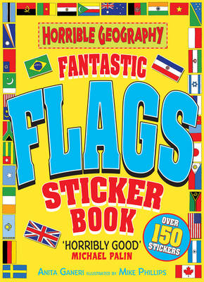 Fantastic Flags Sticker Book - Horrible Geography (Paperback)