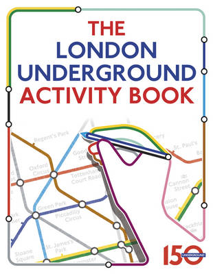 the london underground activity book by samantha meredith waterstones. Black Bedroom Furniture Sets. Home Design Ideas