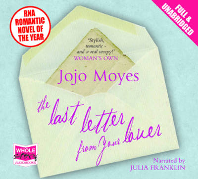 The Last Letter from Your Lover (CD-Audio)