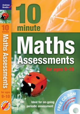 Ten Minute Maths Assessments Ages 9-10 - Maths (Mixed media product)