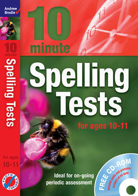 Ten Minute Spelling Tests for Ages 10-11 - 10 Minute Spelling Tests (Mixed media product)