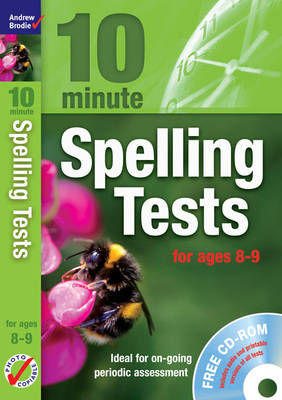 Ten Minute Spelling Tests for Ages 8-9 (Mixed media product)