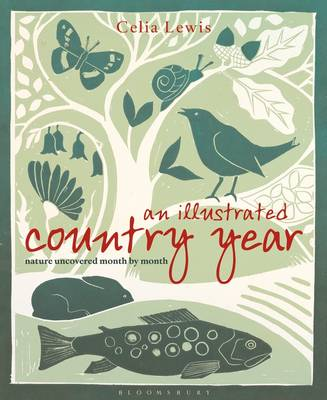 An Illustrated Country Year: Nature Uncovered Month by Month (Hardback)