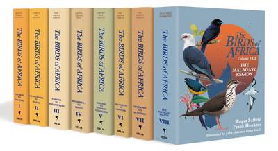 The Birds of Africa: Volumes I to VIII (Multiple copy pack)
