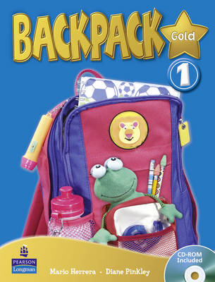 Backpack Gold Level 1 Students Book and CD Rom N/E Pack - Backpack (Mixed media product)