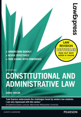 Law Express: Constitutional and Administrative Law (Revision Guide) - Law Express (Paperback)