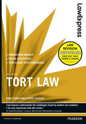 Law Express: Tort Law (Revision Guide) - Law Express (Paperback)