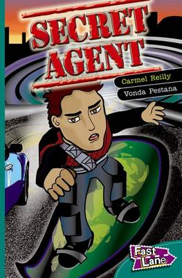 Secret Agent Fast Lane Green Fiction (Paperback)