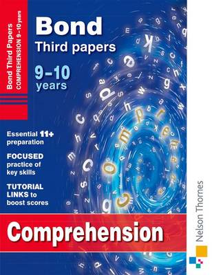 Bond Comprehension Third Papers: 9-10 Years (Paperback)