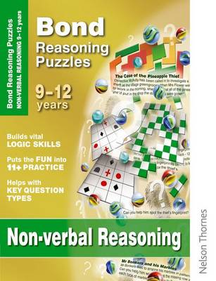 Bond Reasoning Puzzles - Non-Verbal Reasoning: 9-12 Years (Paperback)