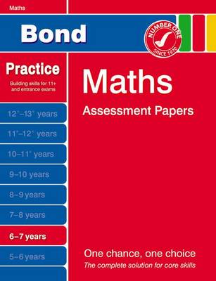 Bond Maths Assessment Papers 6-7 Years (Paperback)