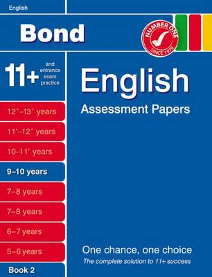 Bond English Assessment Papers 9-10 Years Book 2 (Paperback)