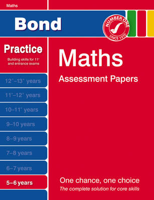 Bond Maths Assessment Papers 5-6 Years (Paperback)
