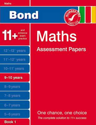Bond Maths Assessment Papers 9-10 Years Book 1 (Paperback)