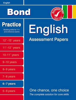 Bond English Assessment Papers 6-7 Years (Paperback)