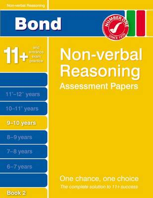 Bond Non-Verbal Reasoning Assessment Papers 9-10 Years Book 2 (Paperback)