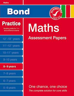 Bond Maths Assessment Papers 8-9 Years (Paperback)