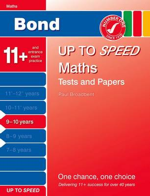 Bond Up to Speed Maths Tests and Papers 9-10 Years (Paperback)