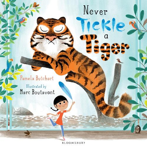 Never Tickle a Tiger (Paperback)