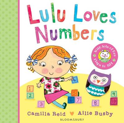 Lulu Loves Numbers - Lulu (Board book)