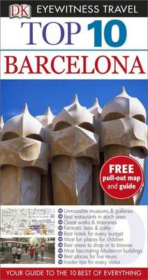 DK Eyewitness Top 10 Travel Guide: Barcelona - DK Eyewitness Top 10 Travel Guide (Paperback)