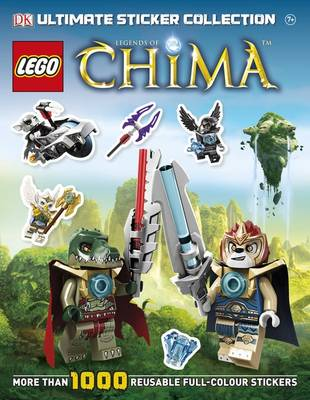 LEGO Legends of Chima Ultimate Sticker Collection - Ultimate Stickers (Paperback)