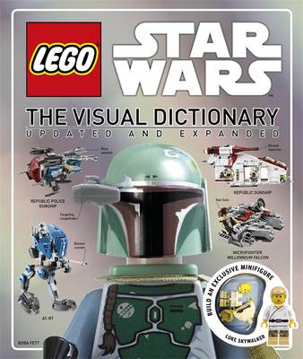 Lego Star Wars Visual Dictionary (Hardback)