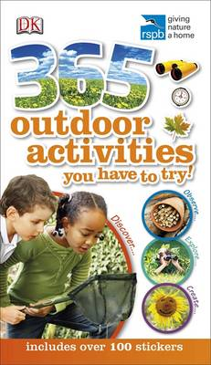 RSPB 365 Outdoor Activities You Have to Try (Paperback)