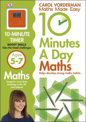 10 Minutes a Day Maths Ages 5-7 - Reissues Education 2014 (Paperback)