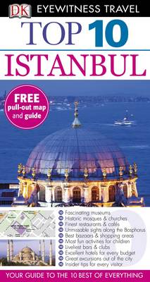 DK Eyewitness Top 10 Travel Guide: Istanbul - DK Eyewitness Top 10 Travel Guide (Paperback)