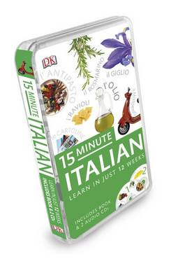 15-minute Italian - Eyewitness Travel 15-Minute Language Packs (Mixed media product)