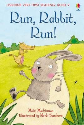 Run Rabbit Run - Usborne Very First Reading No. 9 (Hardback)