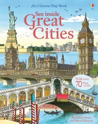 See Inside Great Cities - Usborne See Inside (Hardback)