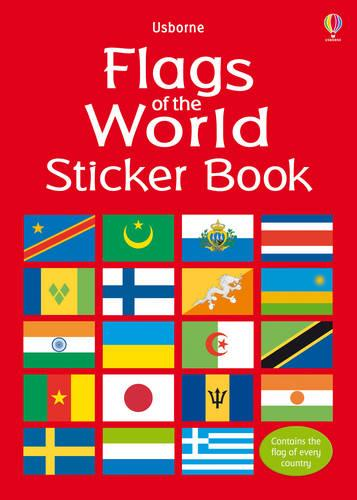 Flags of the World Sticker Book (Paperback)