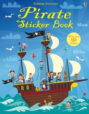 Pirate Sticker Book - Usborne Sticker Books (Paperback)