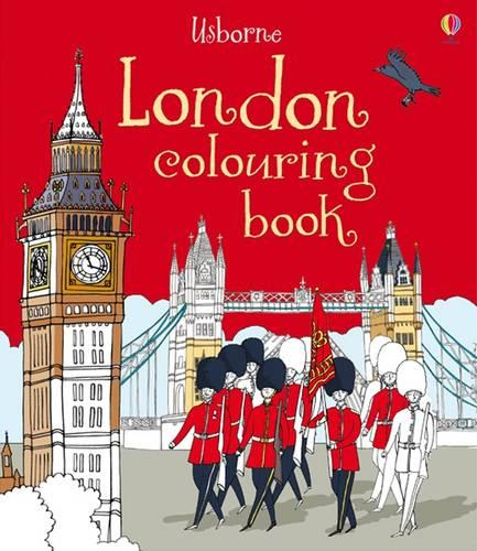 London Colouring Book (Paperback)