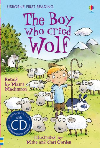 The Boy Who Cried Wolf - Usborne First Reading Level 3 (Mixed media product)