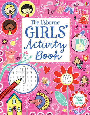 Girl's Activity Book (Paperback)