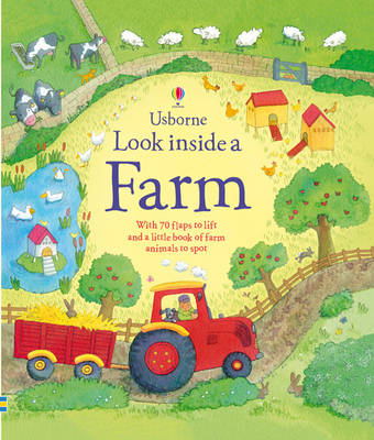 Look Inside a Farm - Look Inside (Paperback)