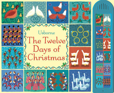 The Twelve Days of Christmas - Usborne Noisy Books (Hardback)