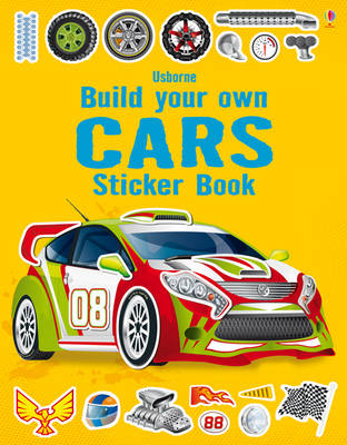 Build Your Own Cars Sticker Book - Build Your Own (Paperback)