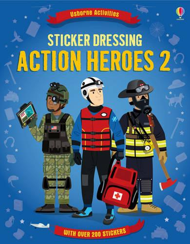 Sticker Dressing Action Heroes 2 - Sticker Dressing (Paperback)